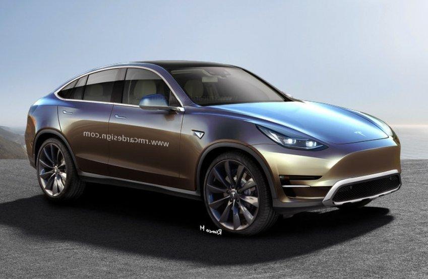 Кросовер Tesla Model Y: перше зображення