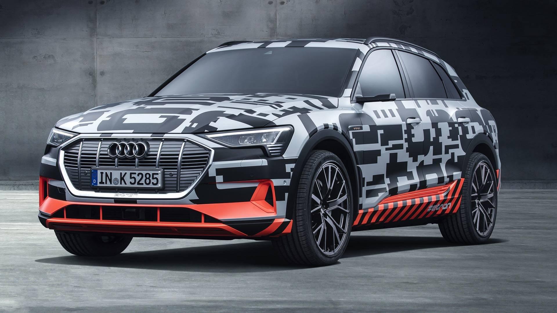 Тестування електромобіля Audi E-Tron (ВІДЕО)