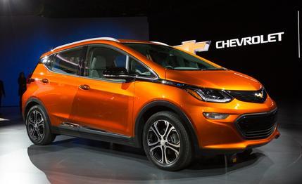 Електромобілі Chevy Bolt EV вже поступили в продаж