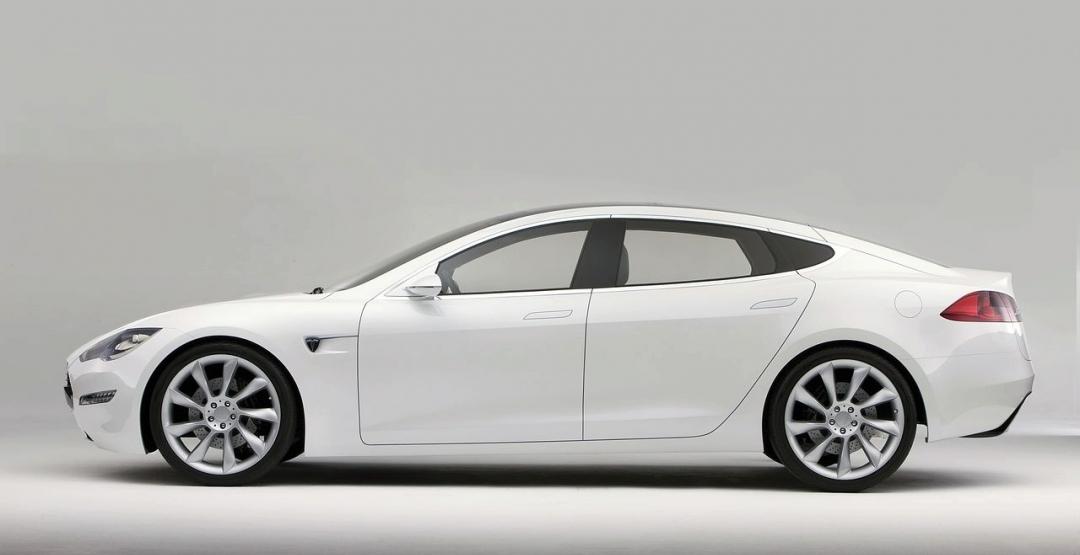 Електрокар Tesla Model 3 представлять на Женевському автосалоні