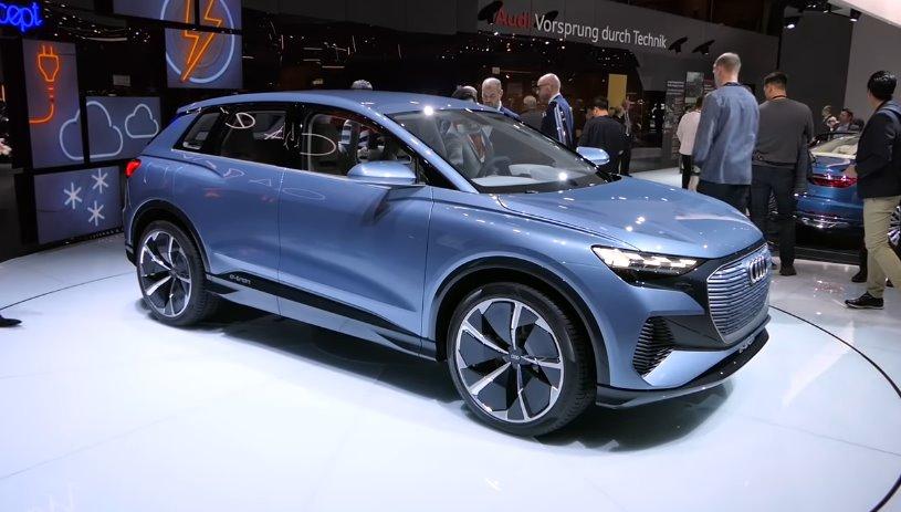 Новинка від Audi: електричний позашляховик Q4 e-tron за ціною від 36 400 доларів США