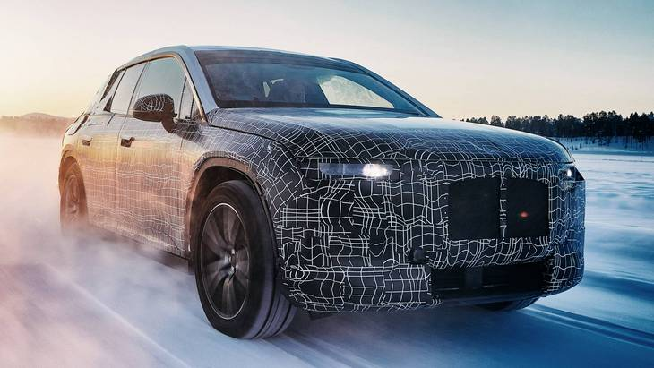 Нові електромобілі BMW: більше 600 кілометрів без підзарядки