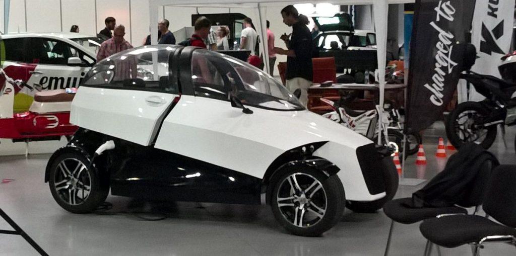 Концепт 4ekolka – новий чеський електромобіль
