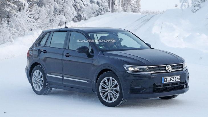 Volkswagen тестує новий електричний кросовер використовуючи базу Tiguan