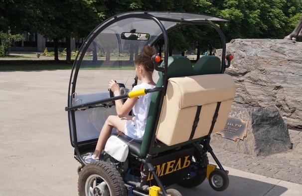 В Україні представили цікавий електромобіль