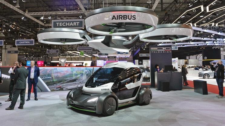 Pop.Up: безпілотний літаючий автомобіль