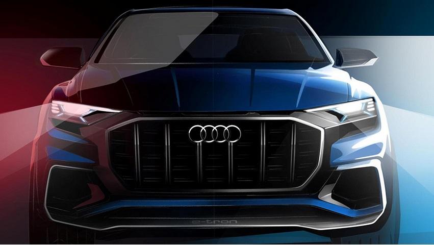 Електричний кросовер Audi Q8 e-tron дебютує в Детройті