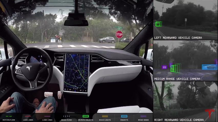 Що насправді «бачить» на дорозі автопілот Tesla (відео)