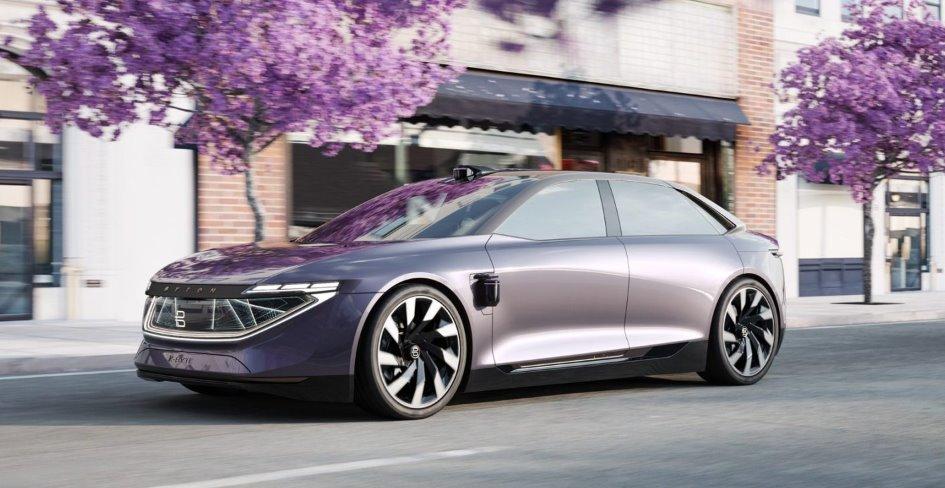 Byton показала новий електромобіль - седан K-Byte