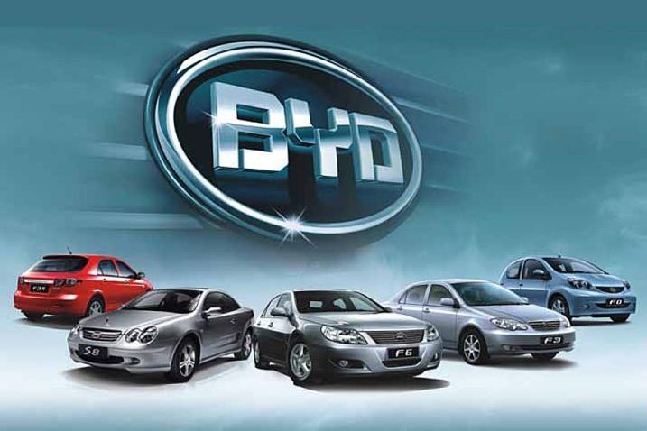 Продажі BYD впали на 34%
