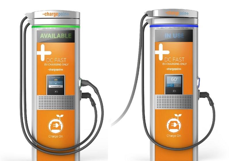 ChargePoint створили нову технологію швидкісних зарядних станцій Express Plus