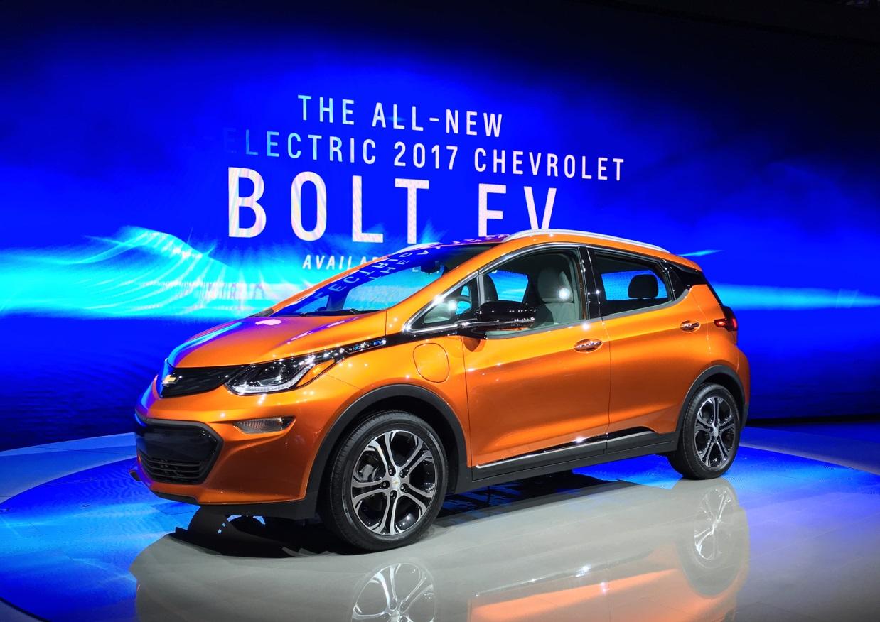Chevrolet Bolt EV визнано найкращим автомобілем року