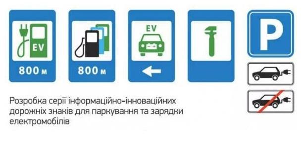 В Україні з'являться дорожні знаки для електромобілів