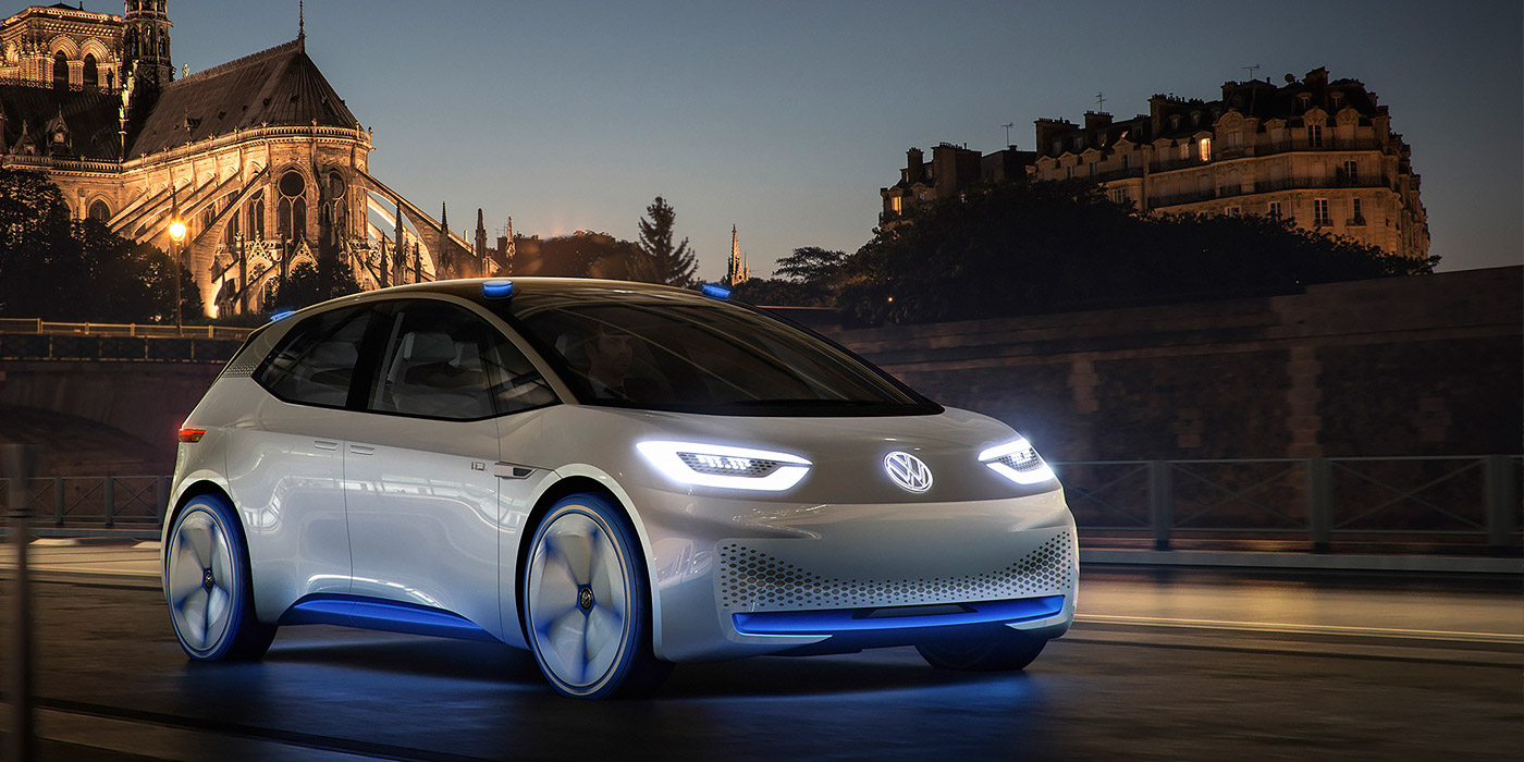 Volkswagen розсекретив дизайн електричного хетчбека