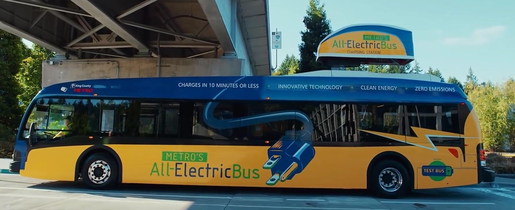 Округ Кінг закупить 120 електроавтобусів до 2020 року