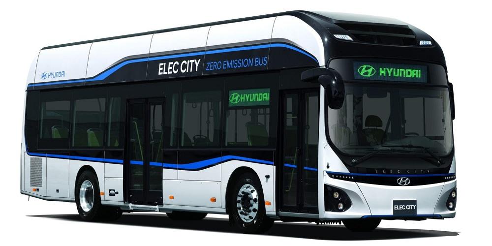 Hyundai представили електричний автобус із дальністю ходу 290 кілометрів