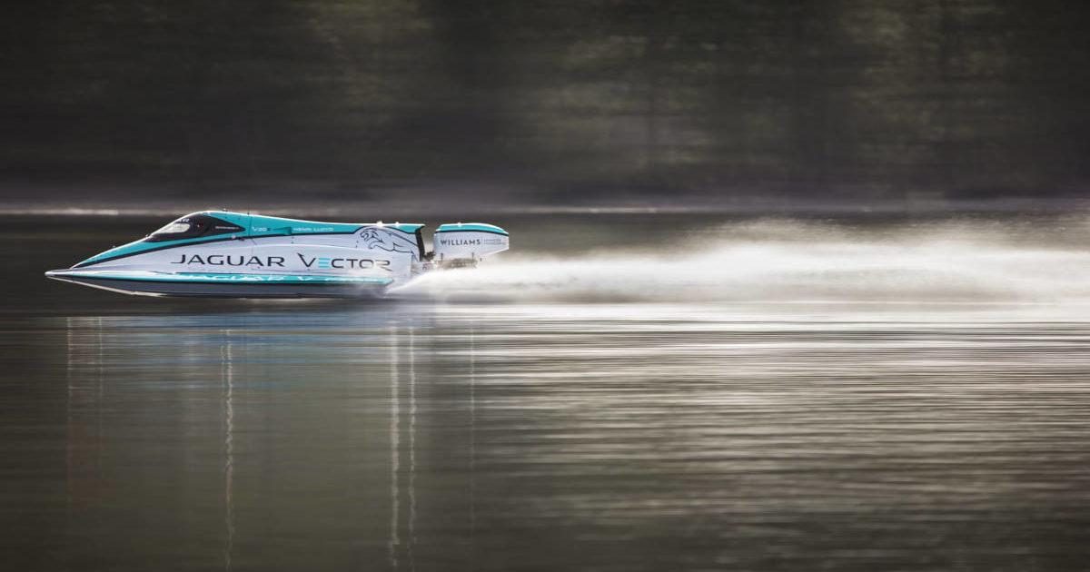Jaguar встановив світовий рекорд швидкості для електричних катерів
