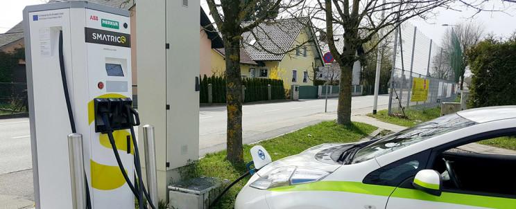 В Європі будуть інноваційні зарядні станції для  електромобілів