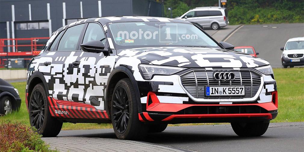 Audi вивела на фінальні тести перший електричний кросовер