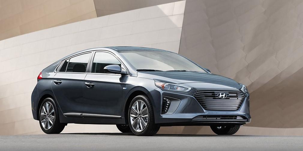 Hyundai оновила гібрид і електрокар Ioniq
