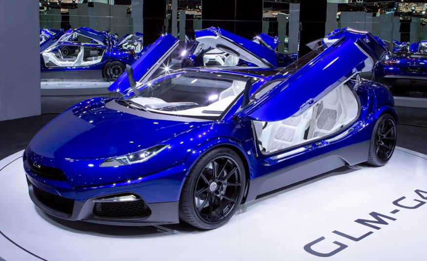 Футуристичний електромобіль GLM G4 – суперекзотика  в Парижі
