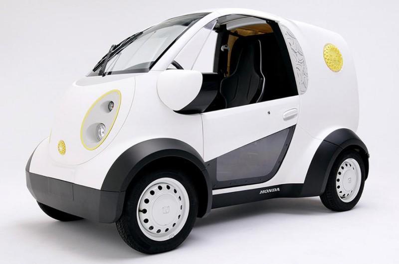 Новий електромобіль Honda використовує технологію 3D-друку