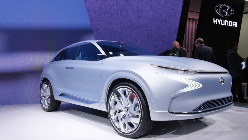 В Женеві Hyundai представила водневий автомобіль FE Fuel Cell