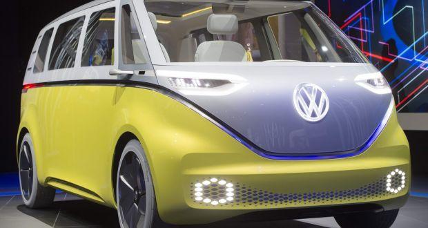 Volkswagen представили концепт електричного мікроавтобуса