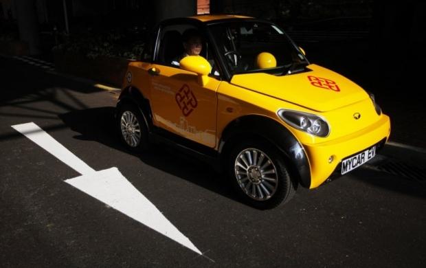 В Японії розробили електромобіль без акумулятора