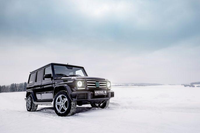 Kreisel Electric переробила Mercedes Gelandewagen в повноцінний електромобіль