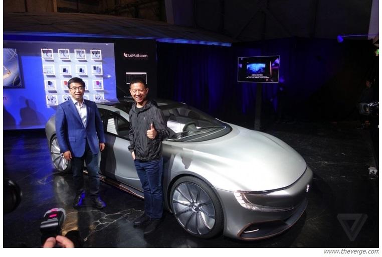 Електромобіль LeEco LeSee Pro – конкурент Тесла за менші гроші