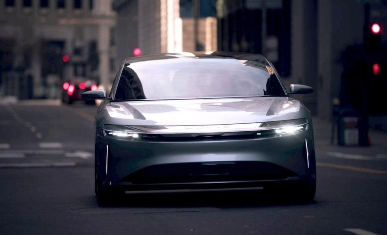 Китайський електромобіль Lucid Air тестують на вулицях Сан-Франциско