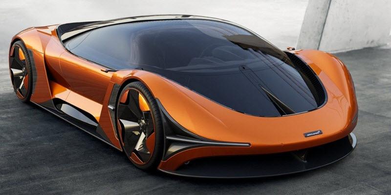McLaren показав майбутній електричний суперкар
