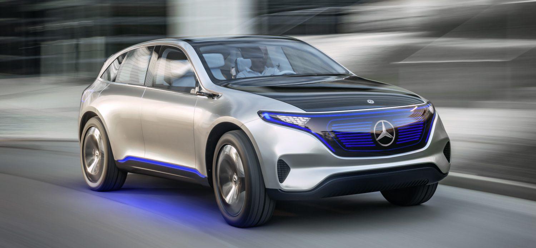 Mercedes-Benz презентував перший електромобіль суббренда EQ