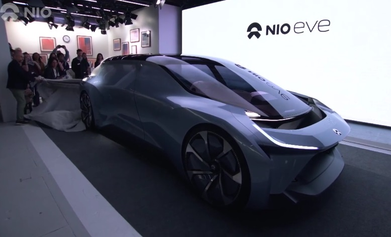 NIO EVE - китайський безпілотний електромобіль майбутнього