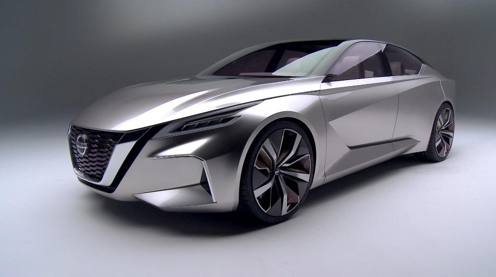 Vmotion 2.0 concept втілює майбутнє автомобілів Nissan