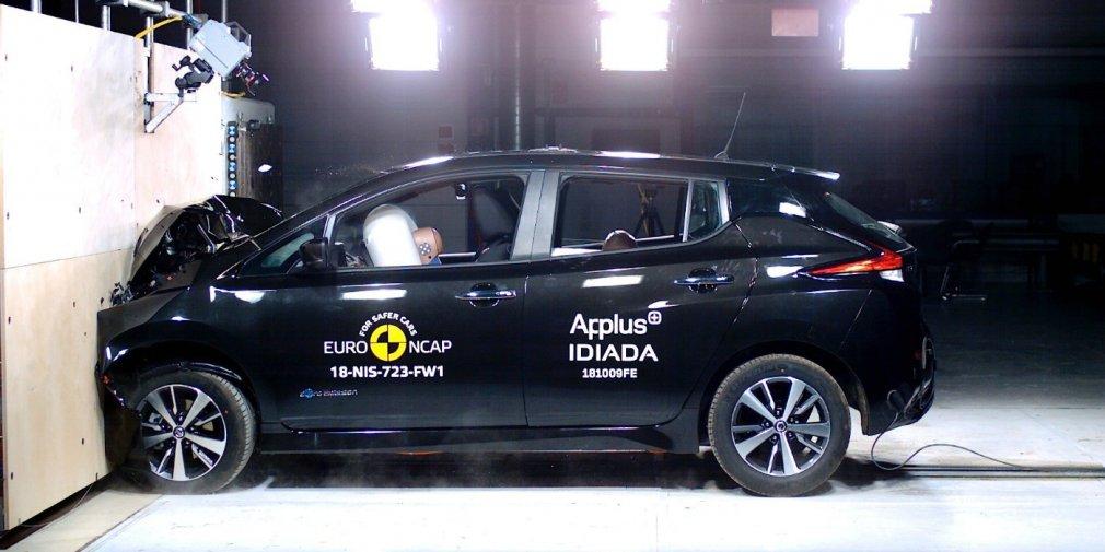 Новий Nissan Leaf отримав найвищу оцінку за тест від Euro NCAP