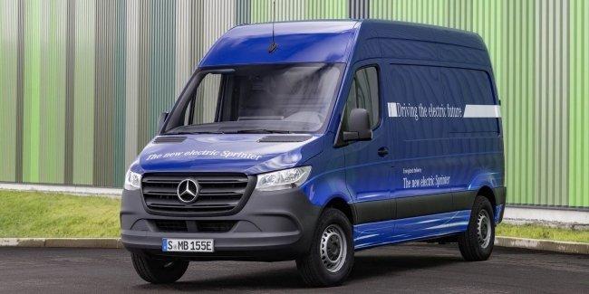 Нова інформація про електричний фургон Sprinter