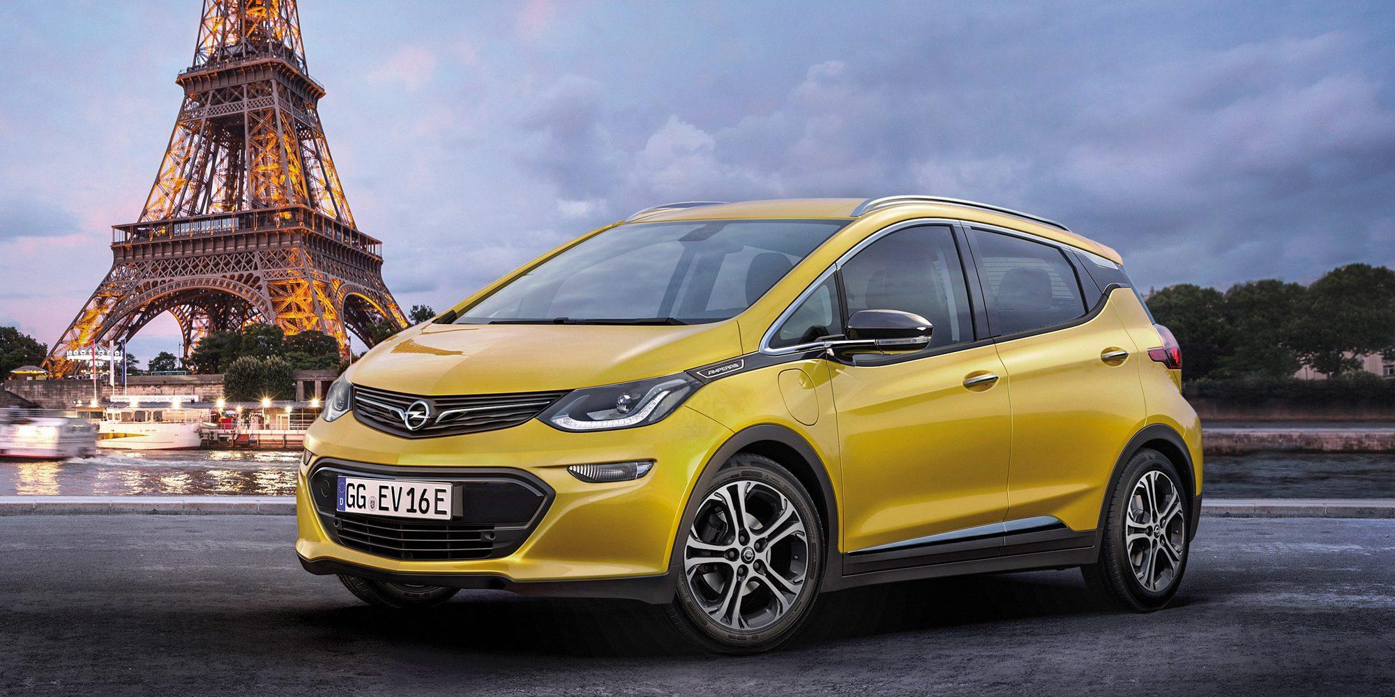 Chevrolet Bolt EV з'явиться в Європі під брендом Opel Ampera-е
