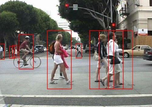 Алгоритм, що дозволить автомобілю бачити пішоходів