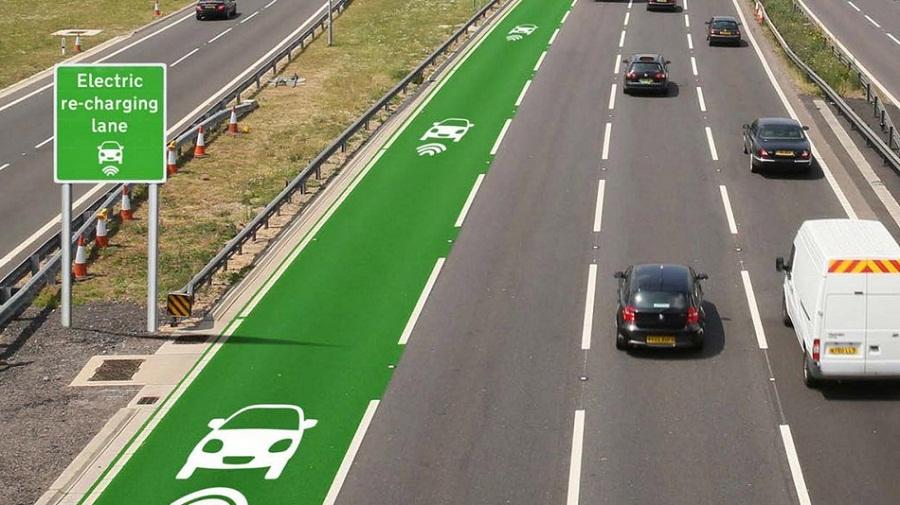 Електромобіль заряжатиметься під час руху автострадами в Англії