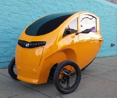Трьохколісний велосипед з електричним двигуном - порятунок від міських корків