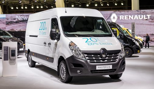 Представлено електричний фургон Renault Master Z.E.