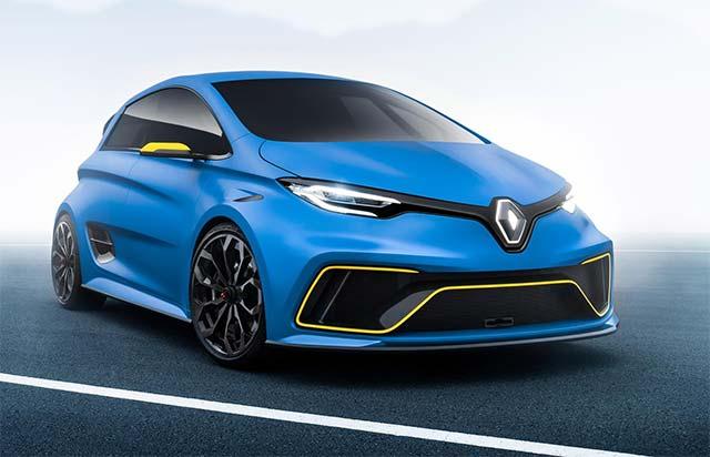 Renault  ZOE e-Sport Concept - розгін до 100 кілометрів за 3,2 секунди