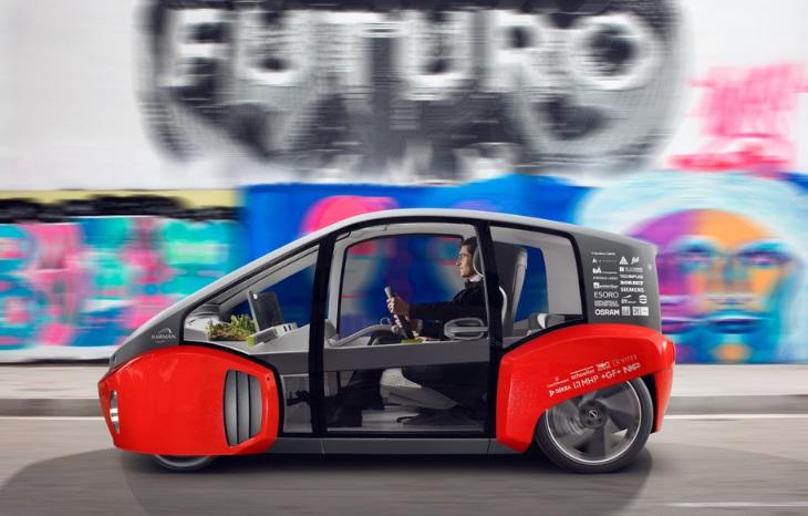 Rinspeed Oasis: автономний міський електромобіль дебютує на CES 2017