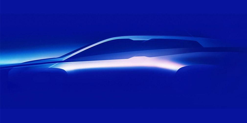 BMW показала силует флагманського електрокара