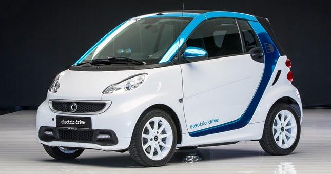 Електромобіль від Smart їде в Україну