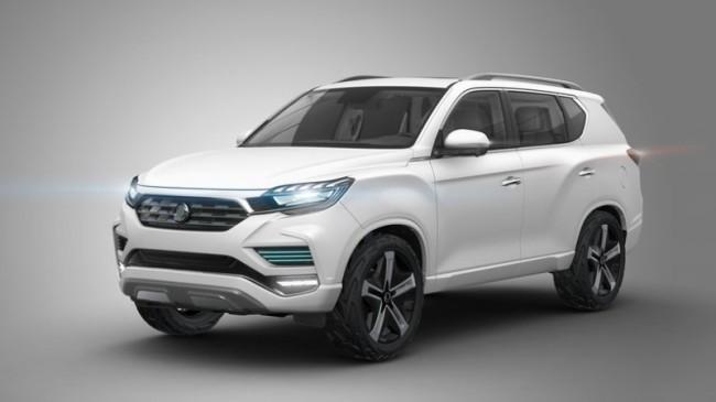 Новий позашляховик SsangYong Korando стане електромобілем