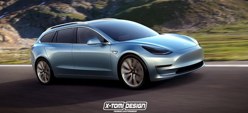Універсал Tesla Model 3