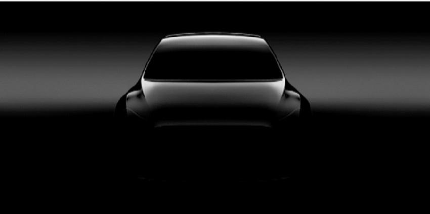 Tesla представили тизер електромобіля Model Y